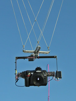Photo of the Nikon D70s rig