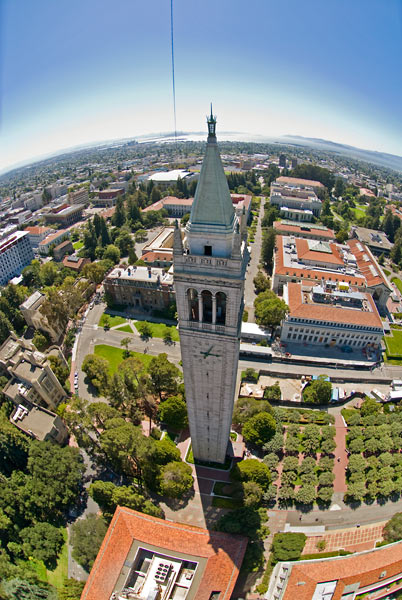 Photo by Scott Haefner: Berkeley Campanile