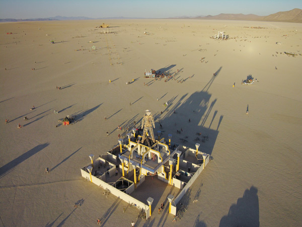 Photo by Scott Haefner: Burning Man, 2006