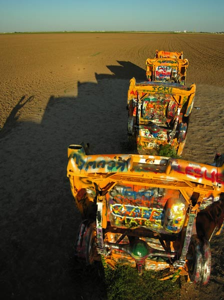 Photo by Scott Haefner: cadillacranch05