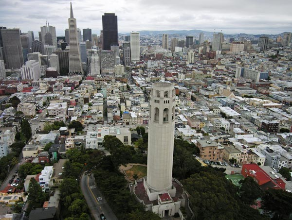 Photo by Scott Haefner: Coit Tower