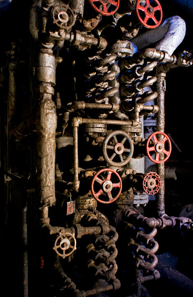 Photo by Scott Haefner: Engine Room