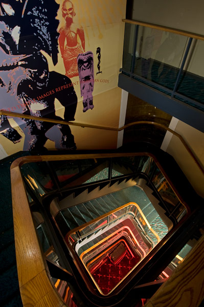 Photo by Scott Haefner: Twisting Staircase