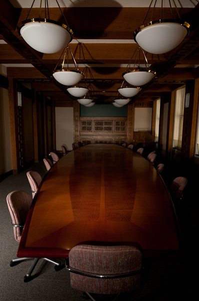 Photo by Scott Haefner: Board Room