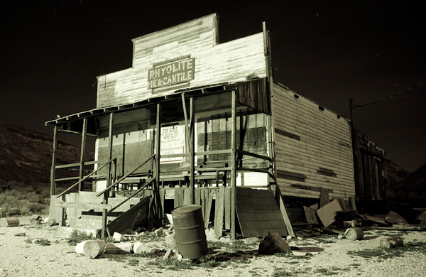 Photo by Scott Haefner: Rhyolite Mercantile