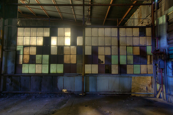 Photo by Scott Haefner: Window Mosaics