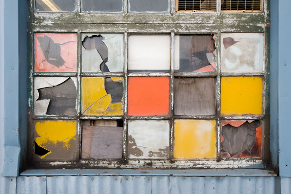 Photo by Scott Haefner: Window Mosaic