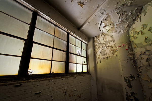 Photo by Scott Haefner: Painted Windows