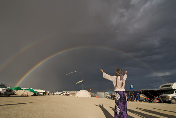 Photo by Scott Haefner: Double Rainbow