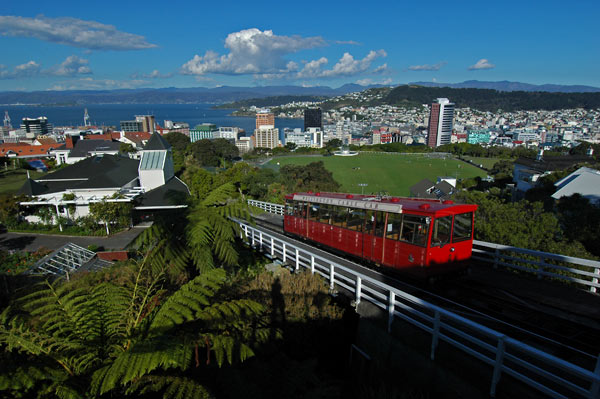 Photo by Scott Haefner: Kelburn Cable Car