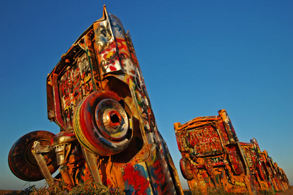 Photo by Scott Haefner: cadillacRanch02