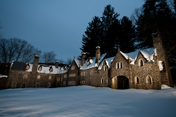 Photo by Scott Haefner: Dundas Castle Courtyard