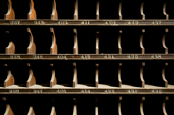 Photo by Scott Haefner: Mail Slots