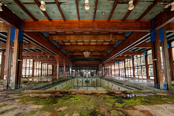 Photo by Scott Haefner: Grossinger's Indoor Pool