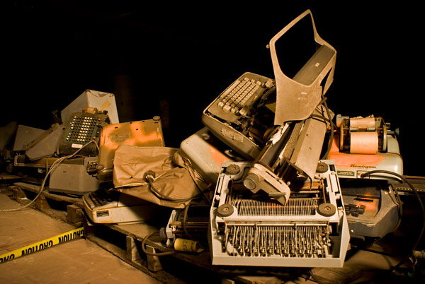 Photo by Scott Haefner: Typewriters
