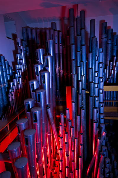 Photo by Scott Haefner: Bleeding Organ Pipes