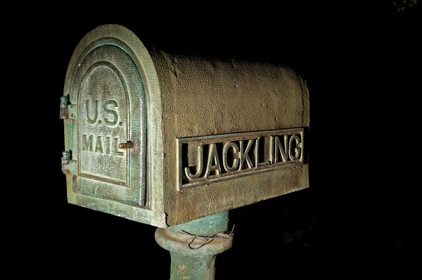 Photo by Scott Haefner: Jackling Mailbox