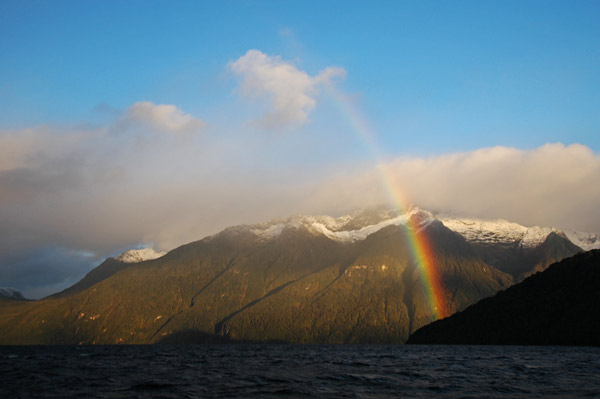 Photo by Scott Haefner: Lake Manapouri