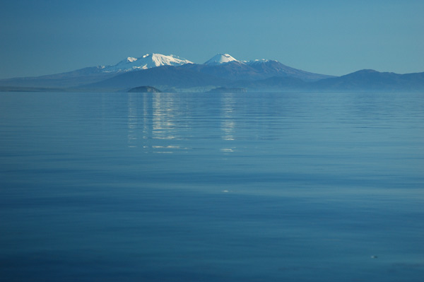 Photo by Scott Haefner: Lake Taupo