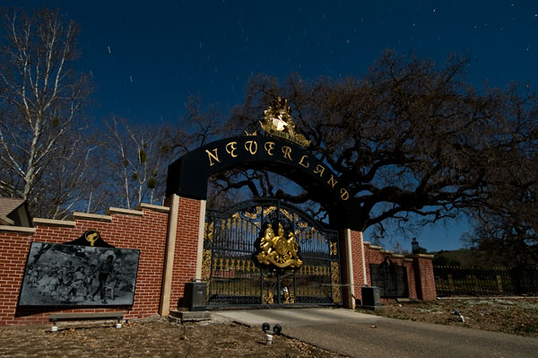 Photo by Scott Haefner: Neverland Main Gate