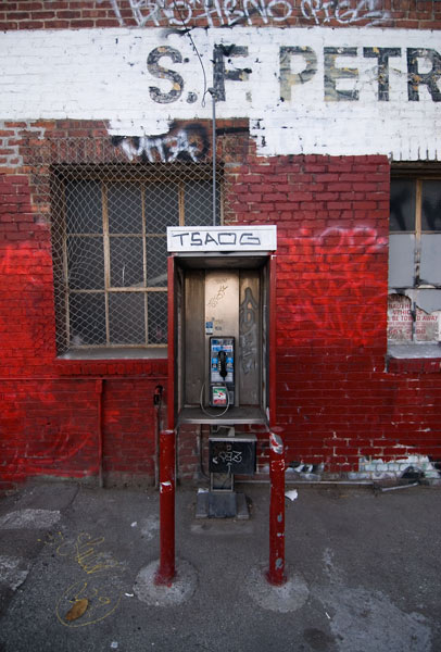 Photo by Scott Haefner: Vibrant Payphone