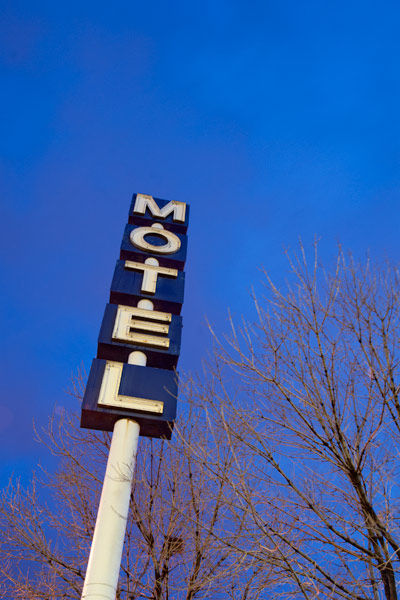 Photo by Scott Haefner: Seedy Motel