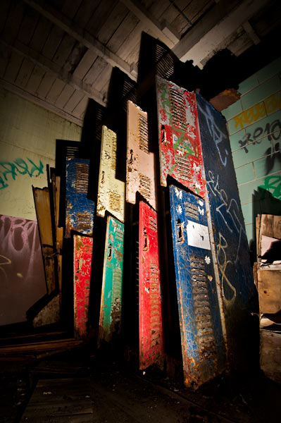 Photo by Scott Haefner: Menacing Lockers