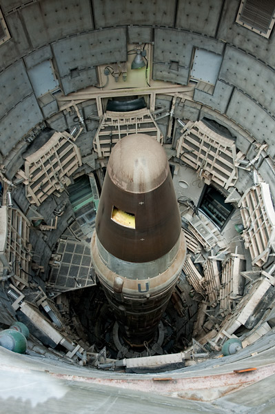 Photo by Scott Haefner: Titan II Missile