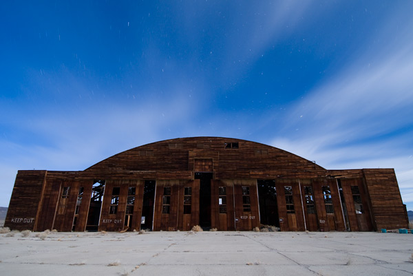 Photo by Scott Haefner: Tonopah Hangar