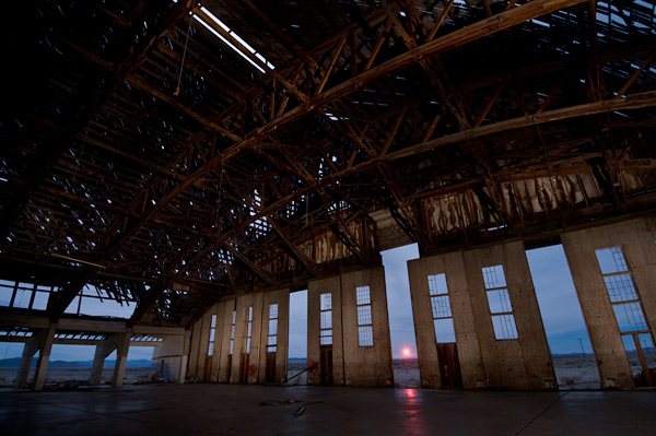 Photo by Scott Haefner: Inside the Hangar