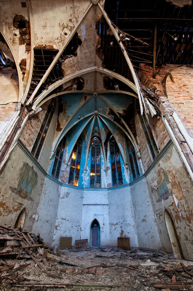 Photo by Scott Haefner: Broken Altar