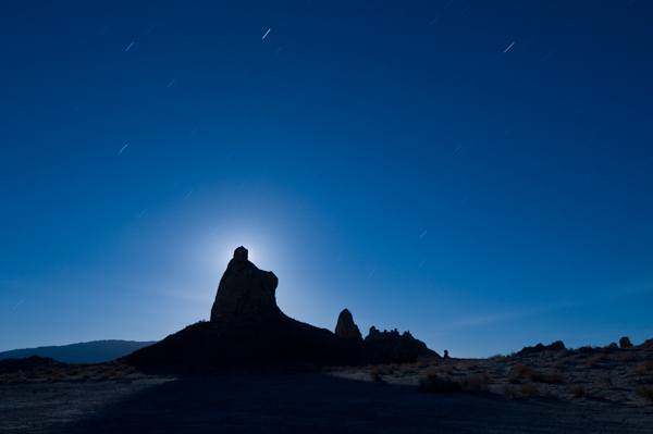 Photo by Scott Haefner: Pinnacle Moon Rise