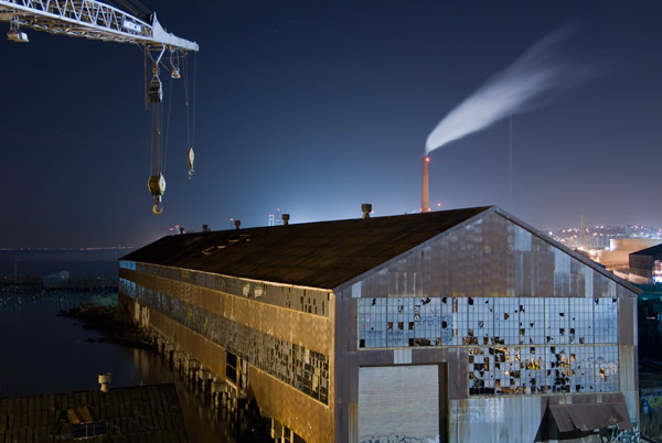 Photo by Scott Haefner: Spewing Smokestack