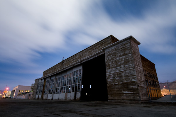 Photo by Scott Haefner: Squadron Hangar