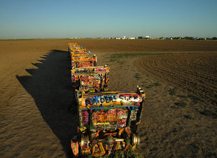 Photo by Scott Haefner: cadillacranch07