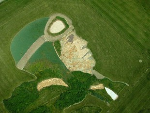 Photo by Scott Haefner: Amelia Earhart Earthworks