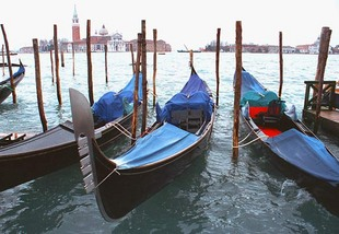 Photo: gondolas