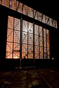 Photo by Scott Haefner: Moonlit Doors