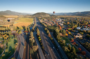 Photo by Scott Haefner: Balloons over Napa