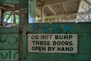 Photo by Scott Haefner: No Bumping