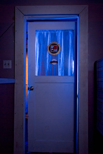Photo by Scott Haefner: Blacklight Repair Room