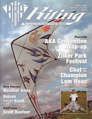 Kiting Magazine Cover